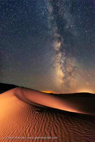 Milky Way over Great Sand Dunes