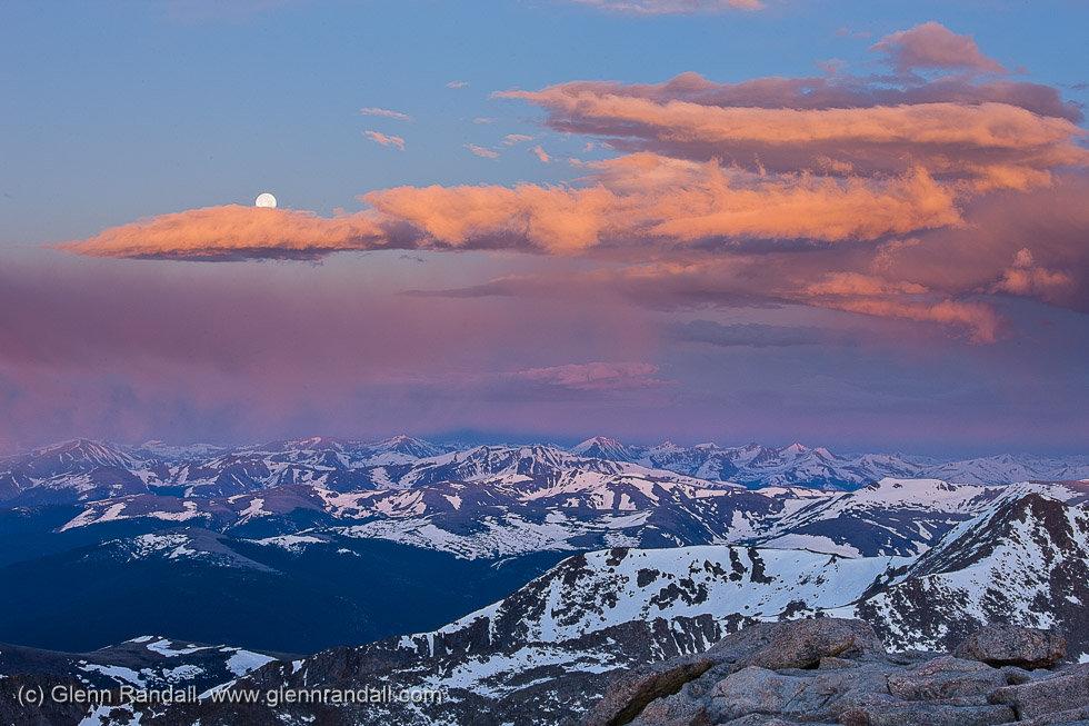 Sunrise from Mt. Evans, Mt. Evans Wilderness, Colorado