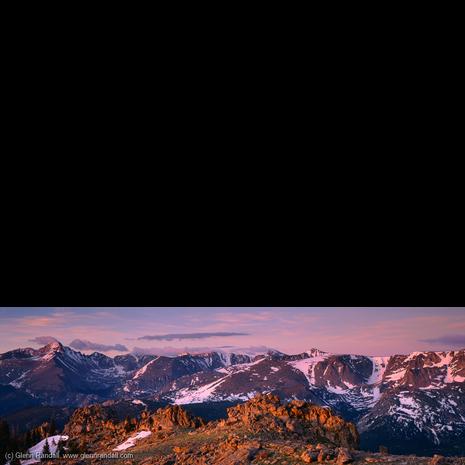 Timberline Pass Panorama