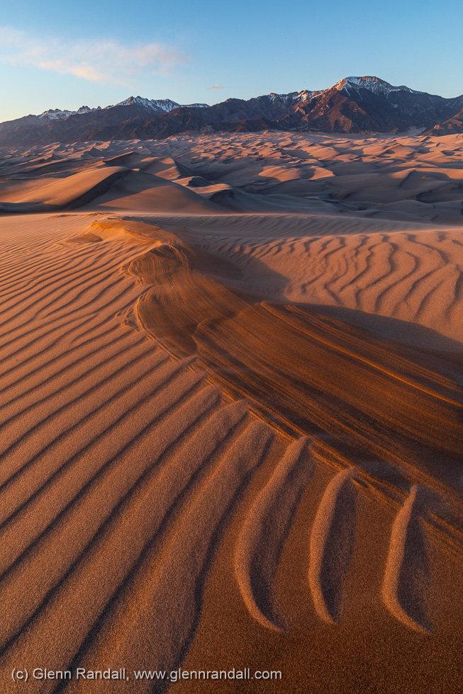 Star Dune Sunset, Great Sand Dunes National Park, Colorado