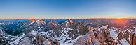 Windom Peak Panorama, Weminuche Willderness, Colorado