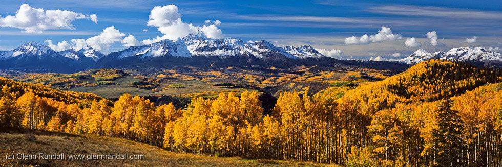 Wilson Peak Panorama, San Juan Mountains, Colorado