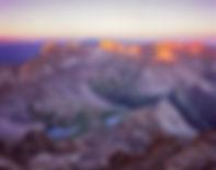 Sunrise from Mt. Sneffels, Mt. Sneffels Wilderness, Colorado