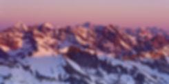 Sunrise from Castle Peak, Maroon Bells-Snowmass Wilderness, Colorado