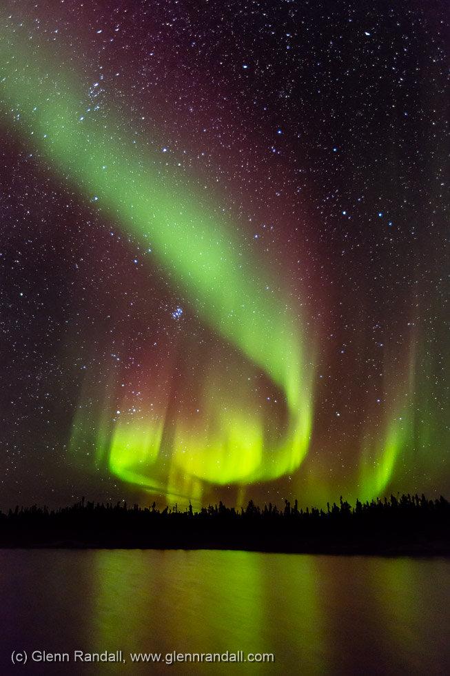Auroral Inferno, Prospect Lake Territorial Park, Northwest Territories, Canada