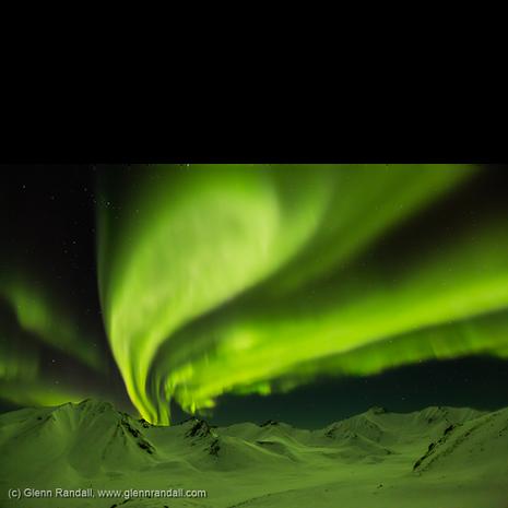 Aurora over the Cloudy Range