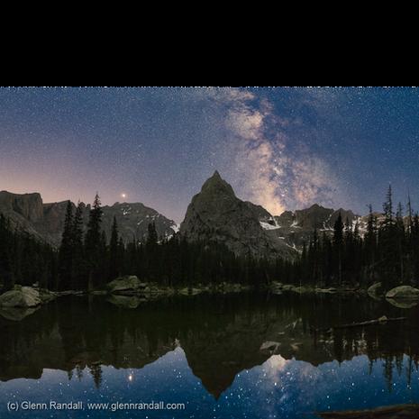 Milky Way Lone Eagle Peak III