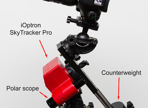 A Review of the iOptron SkyTracker Pro Star-Tracking Camera Mount - Updated