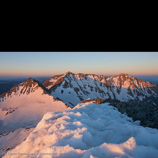 Sunrise from Wilson Peak