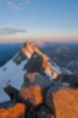 Sunrise from the summit of Mt. Wilson, Lizard Head Wilderness, Colorado