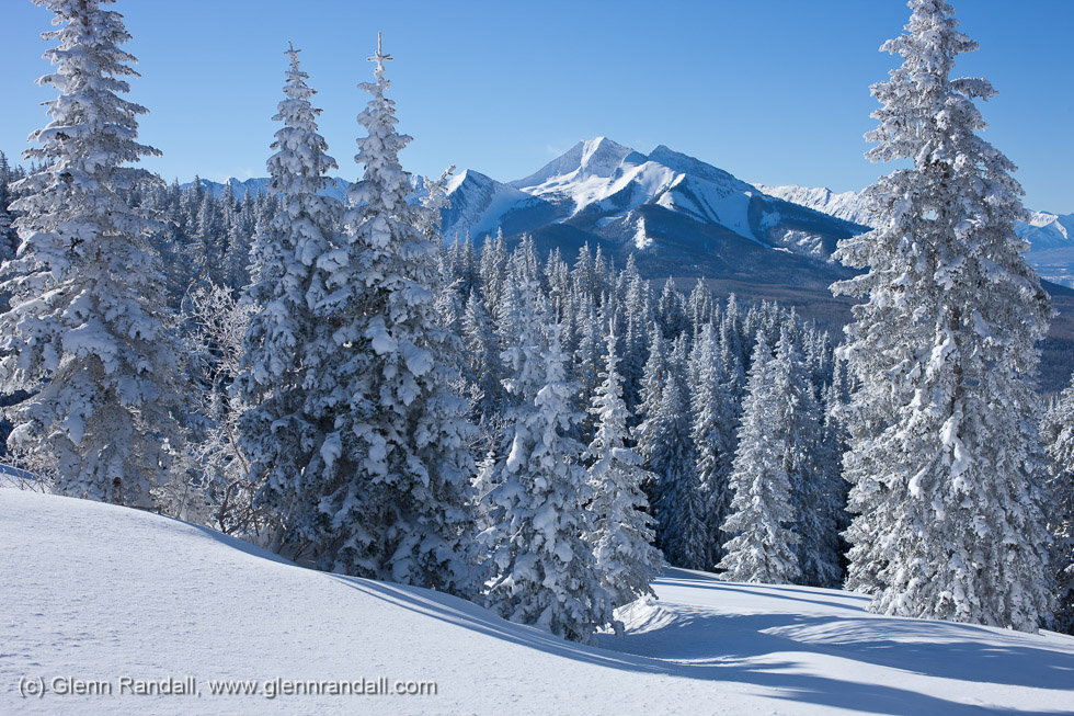 Chair Mountain from Huntsman Ridge, Gunnison National Forest, Colorado