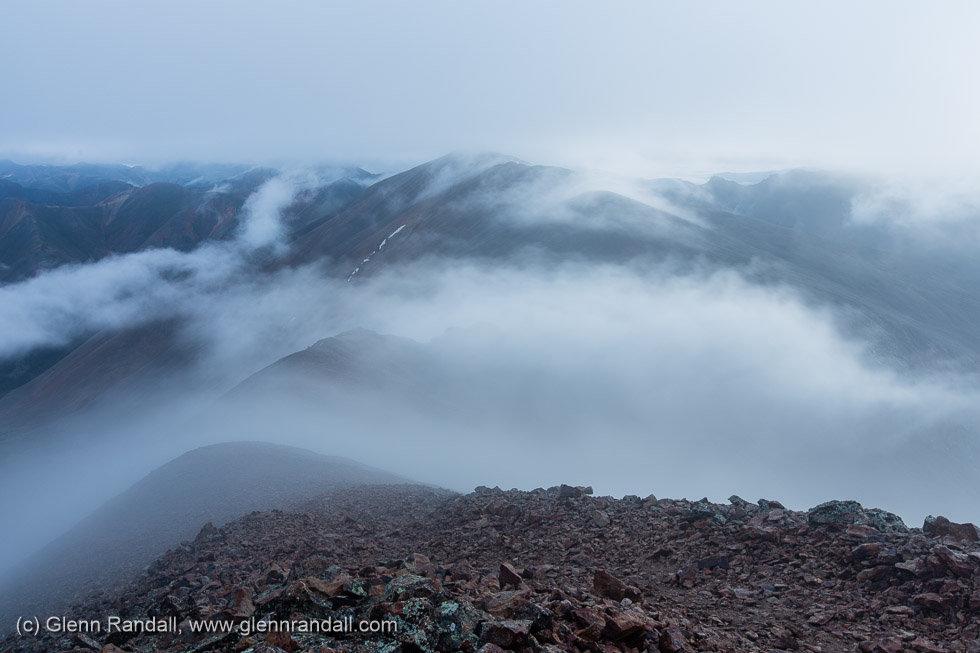 Sunrise from Sunshine Peak, Redcloud Peak Wilderness Study Area, Colorado