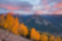 Cimarron Country Sunset, San Juan Mountains, Colorado