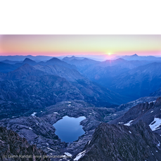 Sunrise from Windom Peak