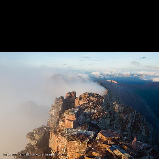 Sunrise from Pyramid Peak