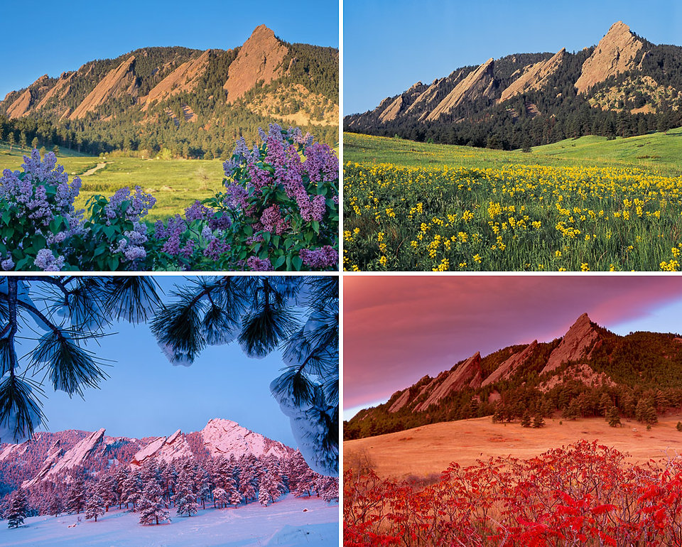 Flatirons Four Seasons, Boulder Mountain Parks, Colorado