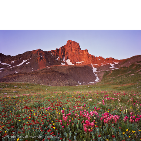 Wetterhorn Peak at Sunrise