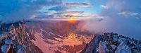 Snowmass Mountain Panorama, Maroon Bells-Snowmass Wilderness, Colorado