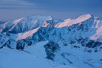 Mt. Princeton and Mt. Yale from Mt. Belford, Collegiate Peaks Wilderness, Colorado