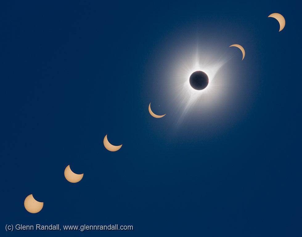The Great American Solar Eclipse, taken near Glendo, Wyoming