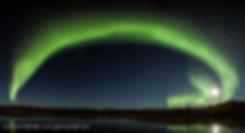 Auroral Arch, Prosperous Lake Territorial Park, Northwest Territories, Canada