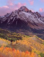 Mt. Sneffels at Sunset, Mt. Sneffels Wilderness, Colorado