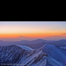 Sunrise from Grays Peak