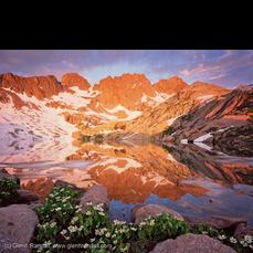 Sunrise at South Sunlight Lake