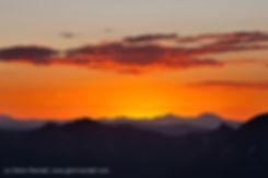 Sunrise from Handies Peak, Handies Peak Wilderness Study Area, Colorado