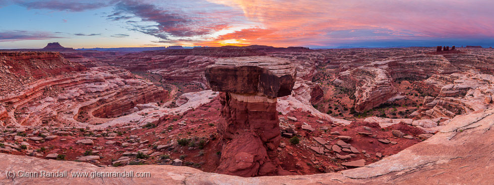 Brimhall Point Panorama, Maze District, Canyonlands National Park, Utah