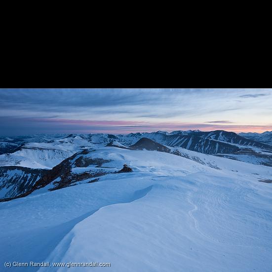 Sunrise from Mt. Sherman