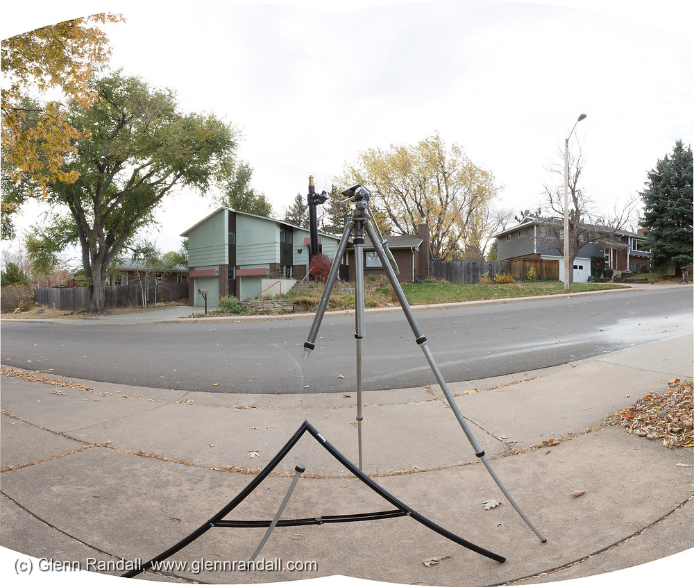 Figure 4. An extreme example of the stitching errors you can get when you shoot a panorama with a close foreground and no nodal slide.