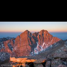 Sunrise from Humboldt Peak