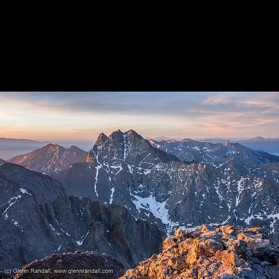 Sunrise from Kit Carson Peak