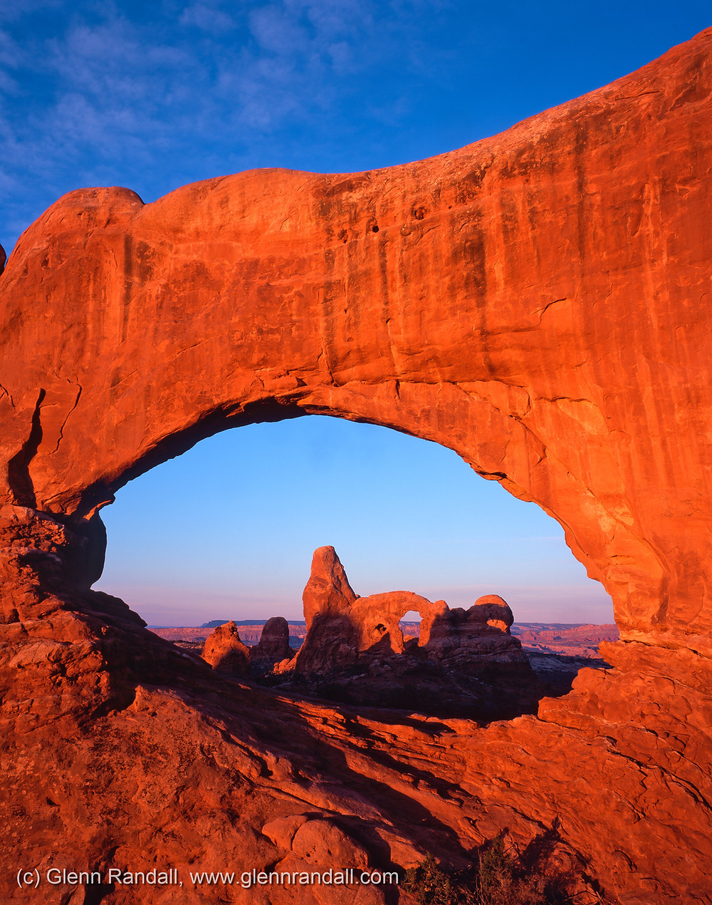 Figure 1. Turret Arch through North Window, Arches National Park, Utah