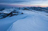 Sunrise from Mt. Sherman, Mosquito Range, Colorado