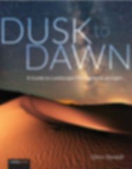 Cover of Glenn Randall's book Dusk to Dawn: A Guide to Landscape Photography at Night