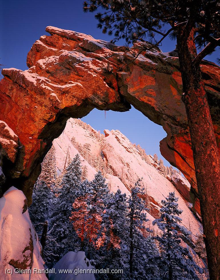 Royal Arch, Boulder Mountain Parks, Colorado