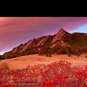 The Flatirons and Boulder Portfolio