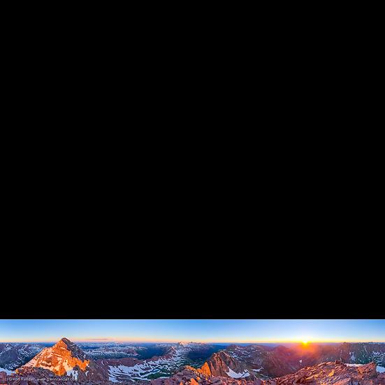 North Maroon Peak Panorama
