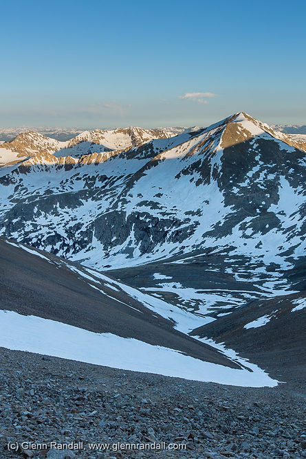 Sunrise from the Mt. Bross Bypass Trail, Mosquito Range, Colorado