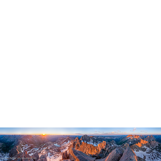 Sunlight Peak Panorama