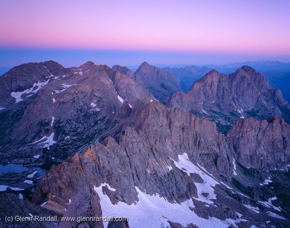 Twilight Wedge from Sunlight Peak, Weminuche Wilderness, Colorado