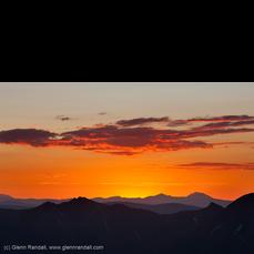Sunrise from Handies Peak