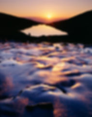 Sunrise above Lake Isabelle, Indian Peaks Wilderness, Colorado