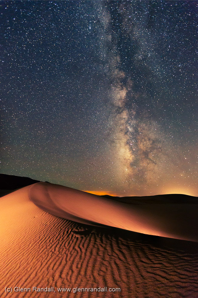 Milky Way over Great Sand Dunes National Park, Colorado