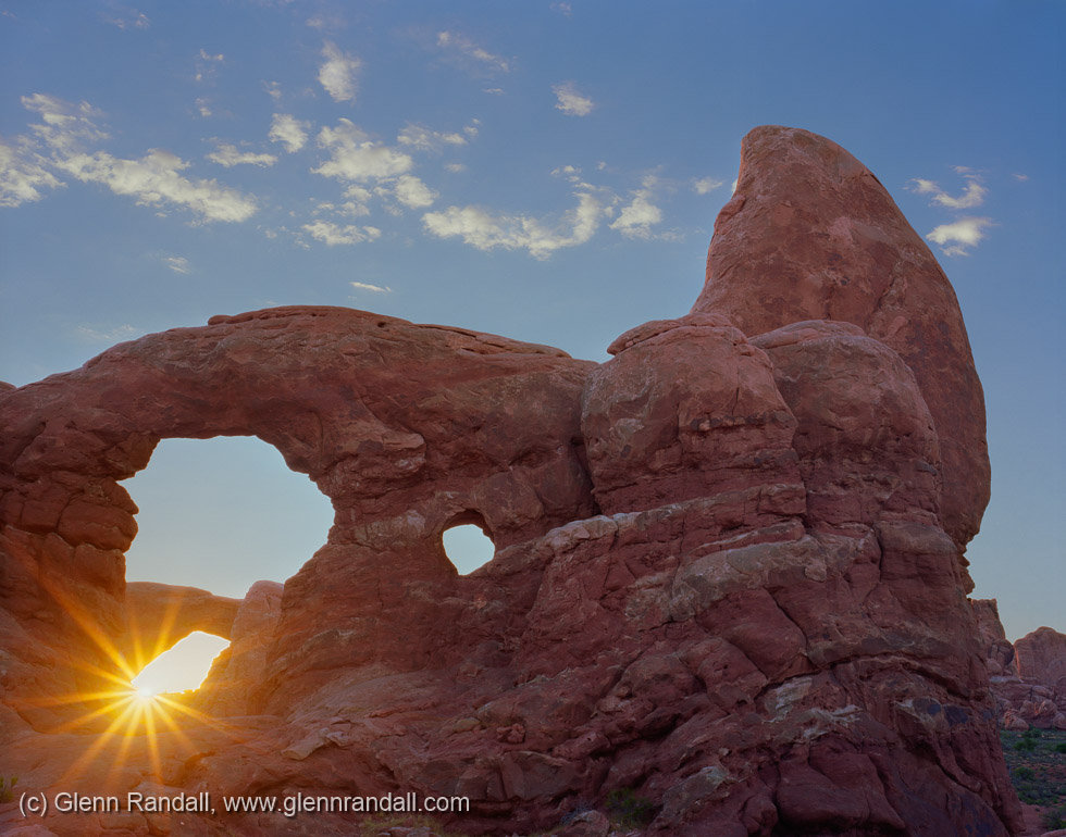 South Window through Turret Arch, Arches National Park, Utah