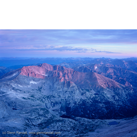 Sunrise from Longs Peak