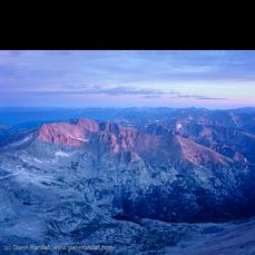 Sunrise from Longs Peak