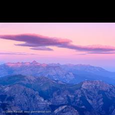 Sunrise from Wetterhorn Peak